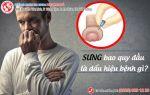 Sưng bao quy đầu dấu hiệu cảnh báo các bệnh nam khoa nguy hiểm