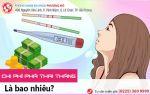 Chi phí phá thai theo tháng bao nhiêu? Giá phá thai 1, 2, 3, 4 tháng chi tiết