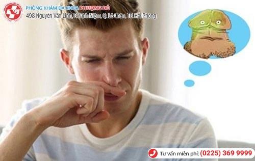 Bao quy đầu có mùi hôi do nhiều nguyên nhân gây nên