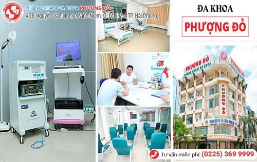 Đa Khoa Phượng Đỏ - bệnh viện nam khoa uy tín, chất lượng ở Hải Phòng