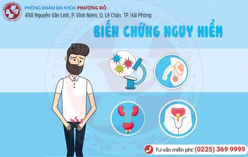Biến chứng nguy hiểm của ngứa lỗ tiểu, ngứa ống dẫn đường tiểu