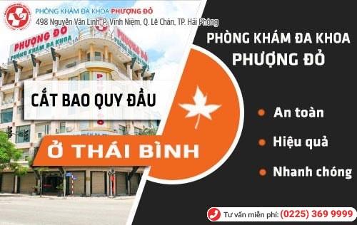 Đa Khoa Phượng Đỏ - địa chỉ cắt bao quy đầu ở Thái Bình hiệu quả
