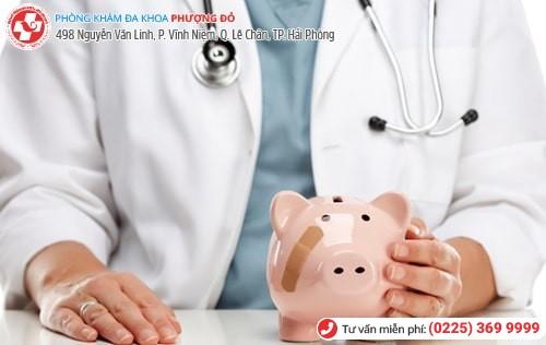 Chi phí khám nam khoa phụ thuộc vào nhiều yếu tố