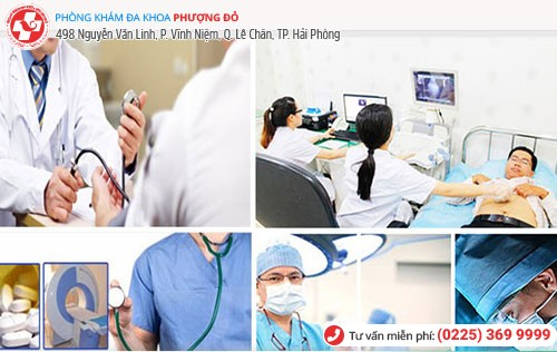 Đa Khoa Phượng Đỏ áp dụng các phương pháp chữa đau tức bìu tiên tiến