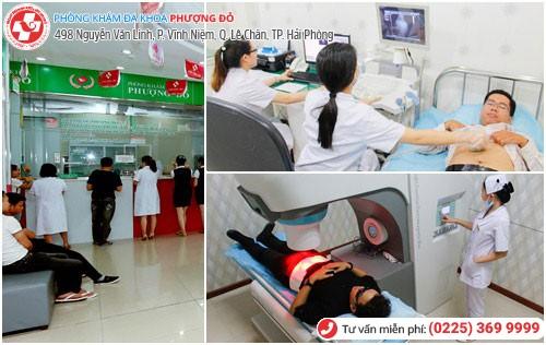 Bệnh nhân chữa chảy dịch dương vật tại Phượng Đỏ