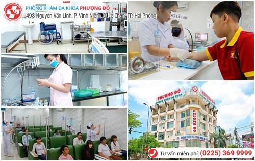 Đa Khoa Phượng Đỏ - địa chỉ chữa bệnh nam khoa ở Hải Phòng hiệu quả