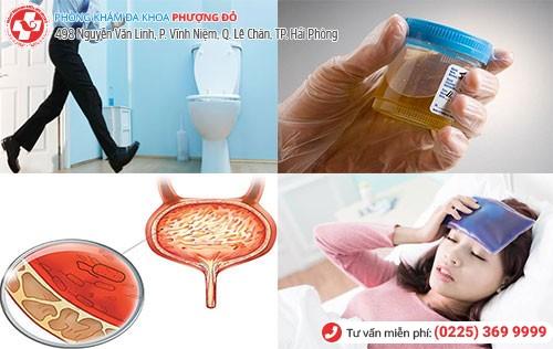1 số dấu hiệu nhiễm trùng đường tiểu cần lưu ý