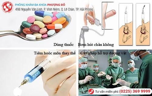 Những phương pháp điều trị rối loạn cương dương hiệu quả hiện nay