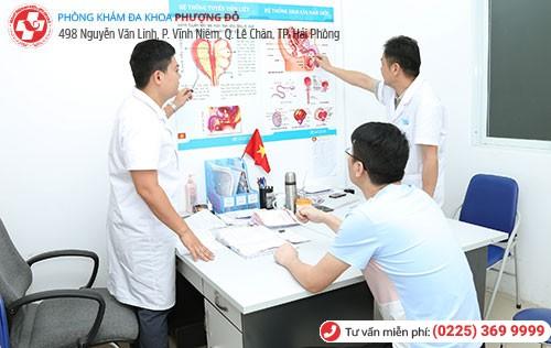 Bệnh nhân hỗ trợ điều trị tinh trùng lẫn máu tại Phòng Khám Phượng Đỏ