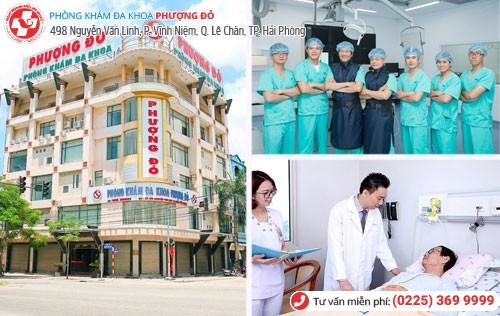 Phòng khám bệnh nam khoa Phượng Đỏ