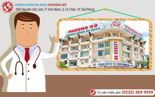 Phòng khám Phượng Đỏ điều trị hạch tinh hoàn
