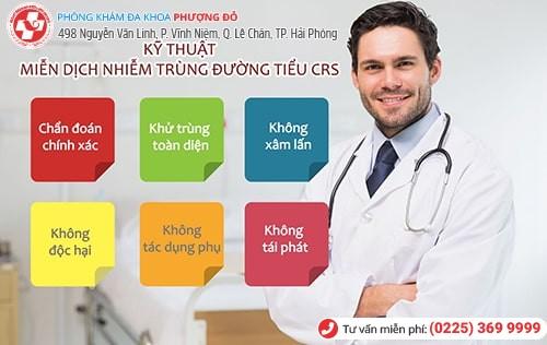 CRS là phương pháp chữa viêm đường tiểu hiệu quả
