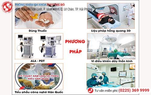 1 số phương pháp chữa bệnh nam khoa tại Phòng khám nam khoa Hải Dương