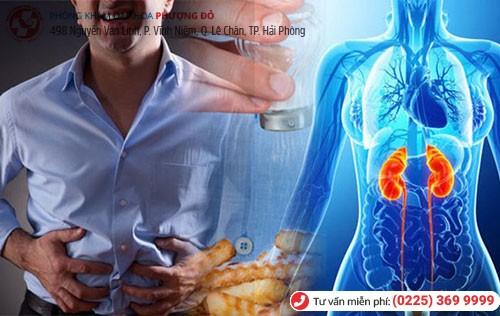 Sỏi tuyến tiền liệt ở mức độ nặng gây suy thận