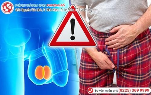 Đau tức tinh hoàn gây nhiều biến chứng nguy hiểm