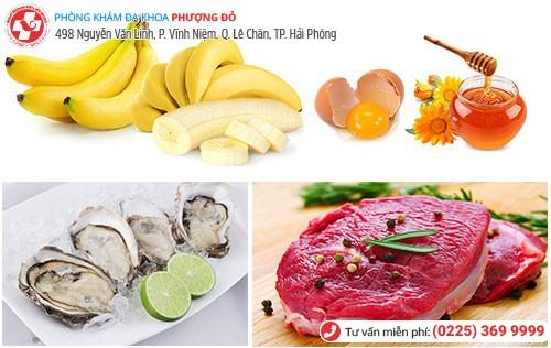 thực phẩm tăng sinh lý