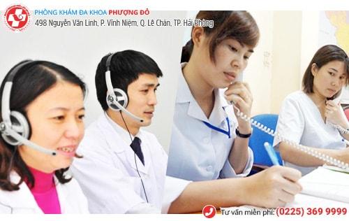 Tư vấn sức khỏe sinh sản qua điện thoại miễn phí