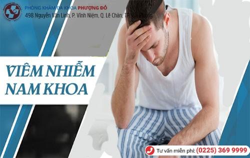 Viêm nhiễm nam khoa