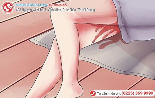 Sảy thai dễ gây băng huyết, mất máu
