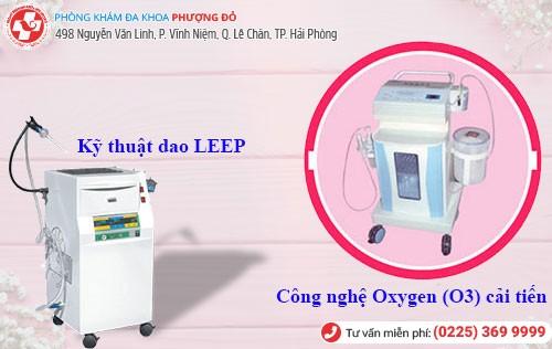 Công nghệ dao LEEP, Oxygen O3 chữa âm đạo ra nước hiệu quả