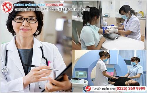 Phòng Khám Phượng Đỏ khám bệnh theo mô hình 1 bác sĩ - 1 y tá - 1 bệnh nhân