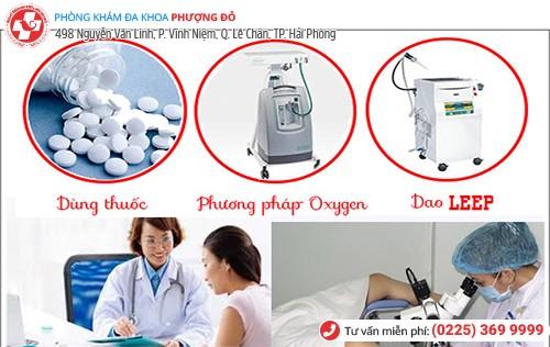 Phương pháp chữa khí hư lẫn máu hiệu quả hiện nay