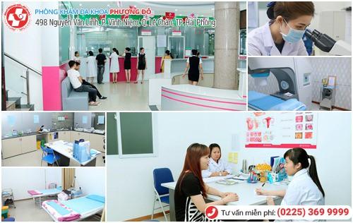 Phòng Khám Phượng Đỏ chữa bệnh phụ khoa với bác sĩ giỏi