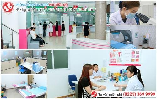 Phòng Khám Phượng Đỏ - địa chỉ chữa viêm cổ tử cung hiệu quả