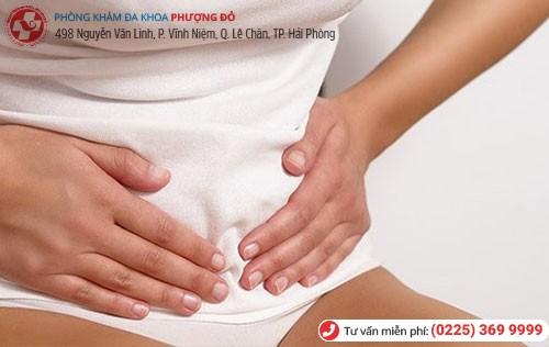 Polyp cổ tử cung khiến người bệnh bị đau bụng dưới