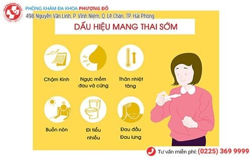 1 số dấu hiệu mang thai sớm chị em nên lưu ý