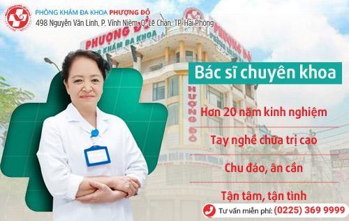 Địa chỉ chuyên chữa bệnh phụ khoa giỏi