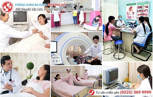 Phòng Khám Phượng Đỏ áp dụng các phương pháp kiểm tra thai tiên tiến