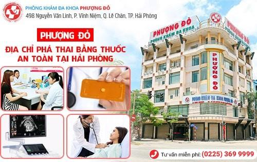 Cách uống thuốc phá thai, địa chỉ phá thai bằng thuốc an toàn tại Hải Phòng