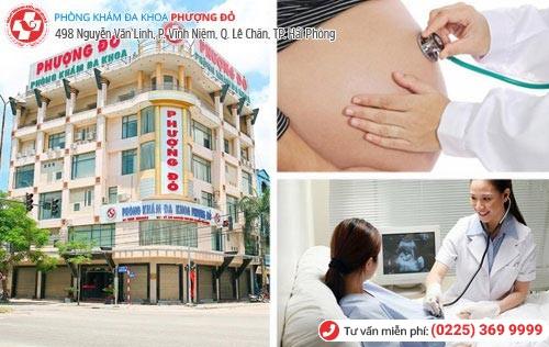 Phòng Khám Đa Khoa Phượng Đỏ - địa chỉ phá thai uy tín tại Hải Phòng