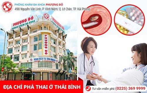 Phượng Đỏ - địa chỉ phá thai an toàn ở Thái Bình được nhiều chị em tin tưởng lựa chọn