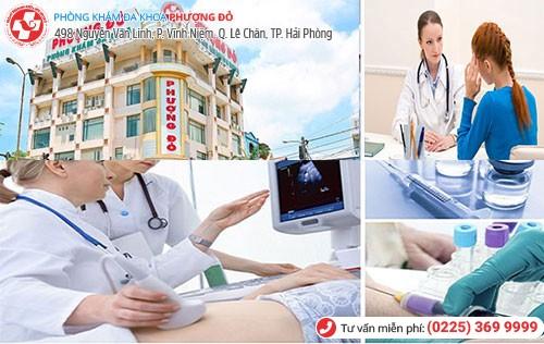 Đa Khoa Phượng Đỏ - địa chỉ siêu âm, kiểm tra thai uy tín