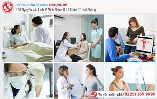 Phòng Khám Phượng Đỏ áp dụng các phương pháp chữa viêm phần phụ tiên tiến