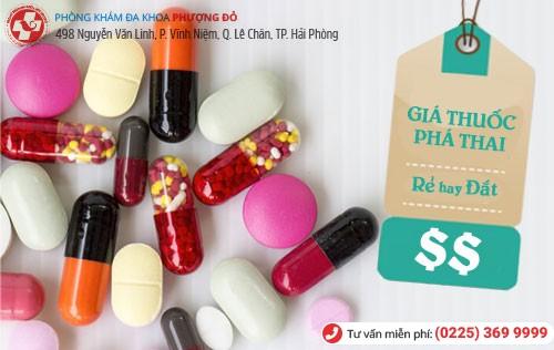 Giá thuốc phá thai