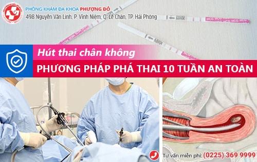 Thai 10 tuần có bỏ được không?