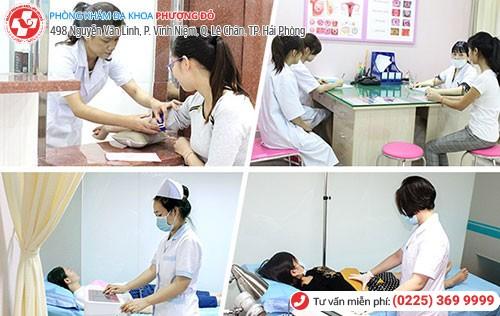 Phòng Khám Phượng Đỏ thực hiện khám phụ khoa tổng quát với bác sĩ giỏi