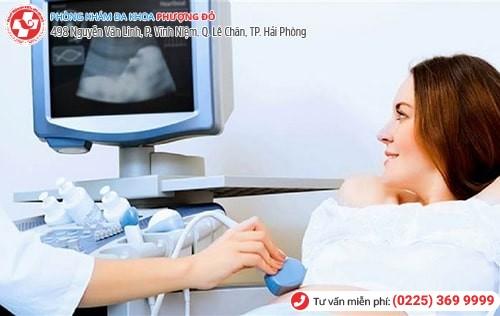 Siêu âm thai - một việc làm quan trọng trong thai kỳ của chị em