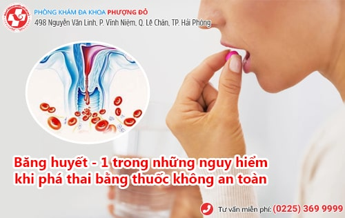 thuốc phá thai 1 tháng