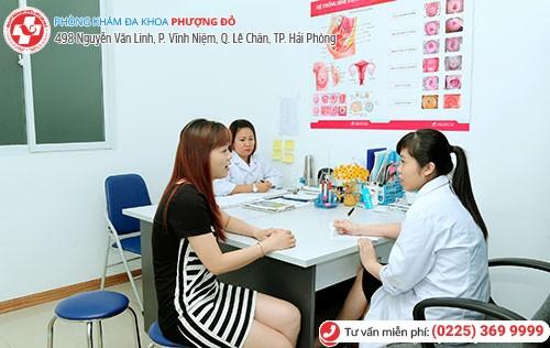Nhiều bệnh nhân tin tưởng lựa chọn Phượng Đỏ để khám phụ khoa