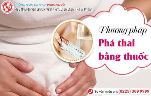 Phá thai bằng thuốc - phương pháp nhanh chóng, hiệu quả