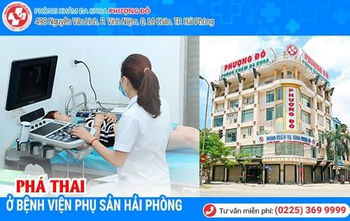 Phá thai ở bệnh viện phụ sản Hải Phòng