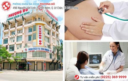 Phòng khám kiểm tra thai