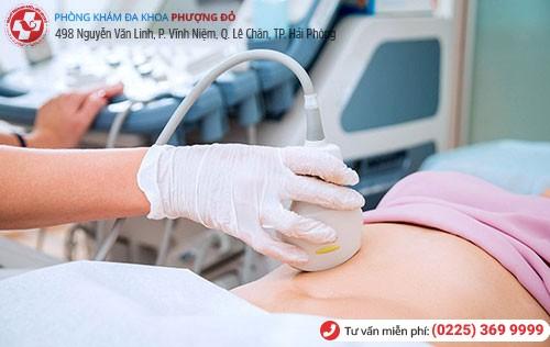 Kiểm tra tuổi thai, vị trí thai trước khi đình chỉ thai để đảm bảo an toàn