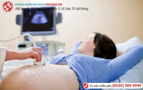Để đảm bảo nong gắp thai an toàn thai phụ cần được siêu âm trước khi tiến hành