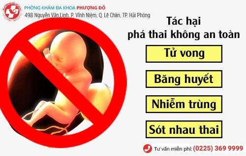 Tác hại khi không phá thai nhanh, tốt, an toàn