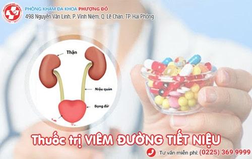 Mách bạn thuốc trị đường tiết niệu an toàn, chi phí rẻ hiện nay